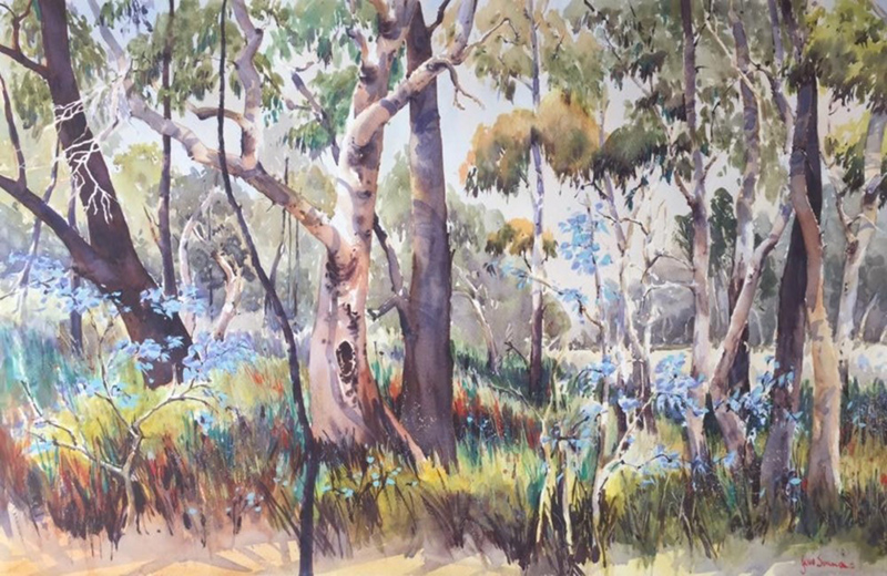 05 Bushland Here and There Exhib Julie Simmons