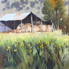 25 The Hayshed Here and There Exhib Julie Simmons