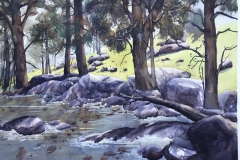 08 Sheoaks on the Creek Here and There Exhib Julie Simmons