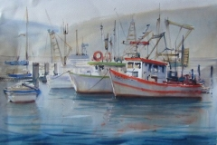 trawlers-brooklyn-watercolour-julie-simmons